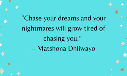 What I've learnt about chasing dreams