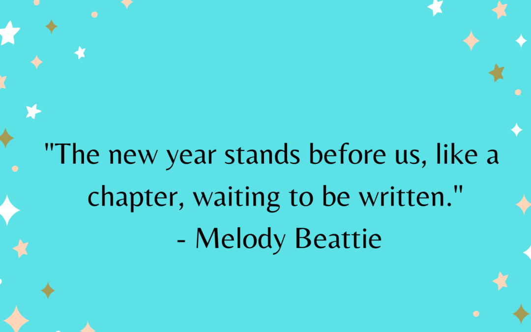 New Year, New Resolutions, New Hope